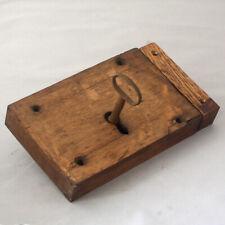 Georgian Oak Stop Lock
