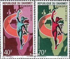 Dahomey 427-428 gestempeld 1970 Europafrique