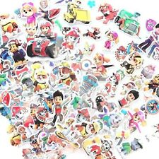 10 x Party Favours Loot Bag Paw Patrol Avengers Transformer Thomas Stickers