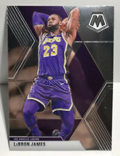 2019-20 Panini Mosaic Lebron James Base Card LA LAKERS CARD #8 CHAMPS🏆