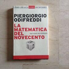 La matematica del novecento Piergiorgio Odifreddi Panorama-Mondadori