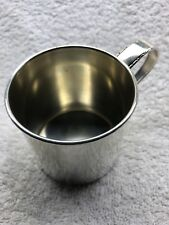 Sterling Silver Child's Baby Cup Rogers 1881