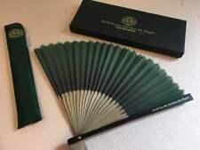 Rare Club 33 Limited Folding Fan Paper Japanese w/Box Tokyo Disney Land Resort