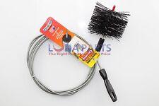 Brushtech B68C 10-Feet Long Dryer Vent Duct Cleaning Brush
