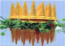 Flowers in between Ice Cream Cones - 3D Lenticular Postcard Greeting Card