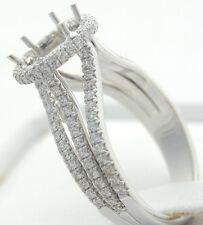 PLATINUM DIAMOND SEMI MOUNT ENGAGEMENT RING MOUNTING