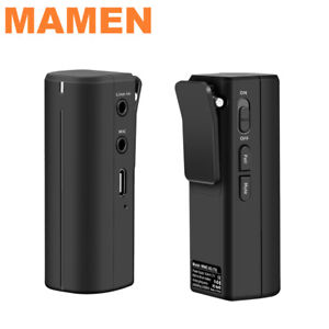 Mamen WMIC-5G Compact Wireless Microphone System DSLR Camcorder Smart Phone