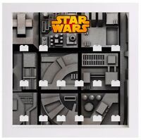 Display case frame for Lego Star Wars Minifigures minifigs figures
