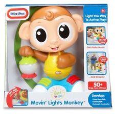 Little Tikes Light n Go Movin Monkey Lights & Sounds 50+ Songs Prases bnib