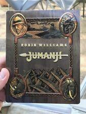 Jumanji Exclusive Blu Ray Steelbook