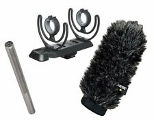 RODE NTG3 On-Camera Microphone Kit: NTG3 Mic, SM3-R Camera Mount, Windscreen
