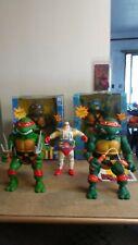 "Teenage Mutant Ninja Turtles 1989 13"" Lot of 3(Read the description below)"