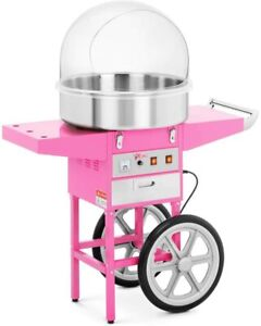 Royal Catering Cotton Candy Floss Machine Set 52 cm Pink 1,200 W