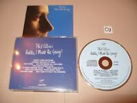 Phil Collins Hello,I Must Be Going Early Press cd 1983 No Barcode cd is VG.EX