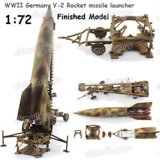 1:72 WWII Germany V-2 Rocket Missile Launcher Model Finished Diecast Model