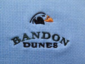 Bandon Dunes Peter Millar Summer Comfort Blue Golf Shirt (M) OMG! ⛳️ ⛳️ 🔥