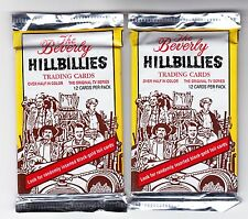 2 Packs -1993 Eclipse The Beverly Hillbillies Cards-12 Card Packs - Foil Inserts