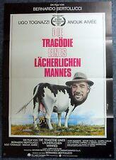 Die Tragödie Eines Lächerlichen Mannes - Bertolucci - A1 Filmposter (j-9281