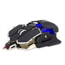 Pro Gaming Mouse LED Color Changing 4800 DPI 10 Button Mice Mouse USB
