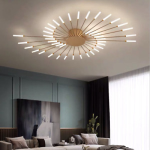 Nordic Fireworks Chandelier Modern Ceiling Light LED Dandelion Living Room