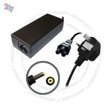 AC Charger Adapter For HP COMPAQ NC6220 NC4200 L2000 65W + 3 PIN Power Cord S247