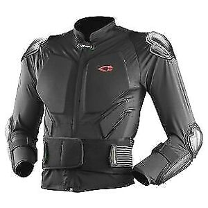 EVS STRET COMP JACKET - ARMORED FULL JACKET WITH BACK PROTECTOR - MENS L / XL