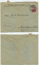 11915 - Schnapszahl-Datum: Harburg (Elbe) 11.11.11 - Beleg nach Strassburg