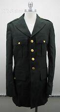 US Military Army Mens Dress Green Uniform Jacket Coat 38 XL 8405 01 330 7409