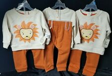 Toddler Clothes 2 pc set LEO & LUNA L/S Shirt & Pants 12/18/24 mth You Pick New