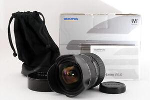 [MINT] Olympus Zuiko Digital 7-14mm f/4 ED AF Lens 4/3 four third Japan 840342