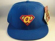 Atlanta Braves MLB American Needle Superman Fitted Hat Cap Size 7 1/2 Blue