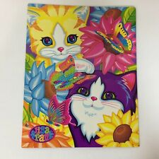 Lisa Frank Kittens Sunflower Rainbow 2 Pocket Folder 2003