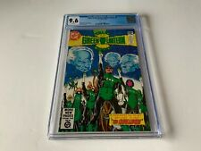 TALES OF THE GREEN LANTERN CORPS 1 CGC 9.6 WHITE PAGES 1ST ARISIA DC COMICS 1981