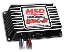 MSD Ignition 65303 6AL-2 Black Programmable Ignition Box - 2-Step/Timing Retard