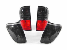 2001 2002 2003-2004 TOYOTA TACOMA DEPO RED / SMOKE TAIL LIGHTS + CORNER LIGHTS