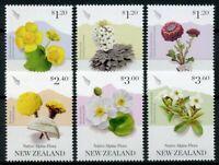 New Zealand NZ 2019 MNH Native Alpine Flora 6v Set Flowers Plants Stamps