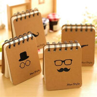 FD2536 Men Style Hard Paper Blank Notepad Memo Diary Notebook 100 Pages ~1pc~☆