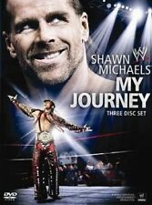 WWE - Shawn Michaels : My Journey (DVD, 2010, 3-Disc Set) - Region 4