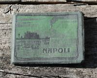Vintage Miniature Napoli Naples Italy Souvenir Photo View Book  1 3/4' X 2 1/4""