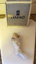 1991 Lladro #5839 Baby's First Christmas 1991 in Box Ornament Hand Made in Spain