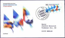 BRD 1999: Bayern Meister! FDC der Nr. 2074 mit Bonner Stempel! Gelaufen! 1709
