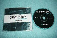 Seether CD Broken - EU 1-track promo CD feat. Amy Lee of Evanescence