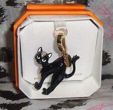 New Juicy Couture Black Cat Charm For Bracelet Necklace Handbag Keychain