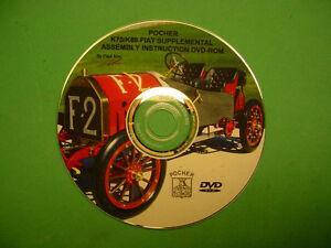 Pocher 1/8 Fiat Supplementare Istruzioni Dvd-Rom