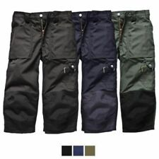 Dickies Patternless Workwear Trousers for Men