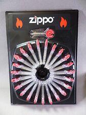 24 x Zippo piedras / cerillas - 144 piezas - Cada 6 En Dispensador - NUEVO -
