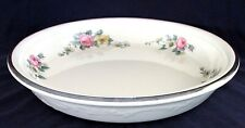 Vintage OVEN SERVE Pie Plate Baking Dish, Virginia Rose, Armand, 10 1/2""
