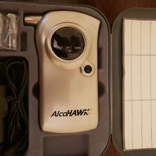 AlcoHawk personal breathalyzer. Battery or 12v cigarette adaptor powered