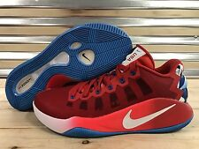 Nike Hyperdunk Low 2016 USA Basketball Shoes Red White WMNS SZ 11 ( 876499-699 )