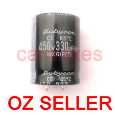 Hot Capacitor 330uf 450V 105°C 30X40mm for Sony LCD Monitor ScreenRubycon Aussie